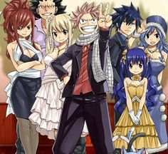 some of the fairy tail members are my favourites...but even I have characters, that i don´t like...