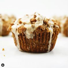 Ever have a photo just stop you mid scroll because it was so yummy? this one from MsModify hit me like that. YUM I am legit in awe and totally need to make these Gluten Free (& Dairy Free) Pumpkin Streusel Muffins with Maple Glaze Gluten Free Quick Bread, Gluten Free Pumpkin, Gluten Free Cakes, Pumpkin Recipes, Sugar Pumpkin, Maple Glaze, How To Cook Sausage, Vegan Sweets, Muffins