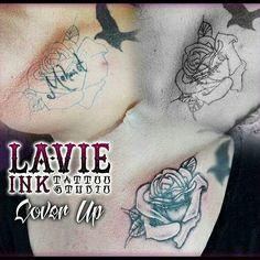 Cover Up #tattoocoverup #coverup #cover #tattoo #tatuador #tattooartist #tattooer #flower #flowertattoo #art #artist #kunst #germany
