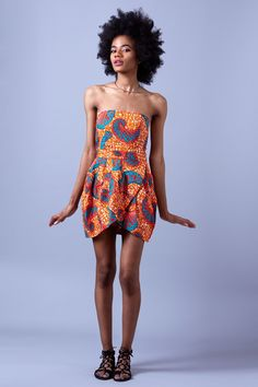 Robe fleur du Maroc via Chamstyle. Click on the image to see more!