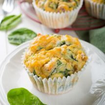 Ma recette du jour : Muffins fromage tomate basilic  sur Good-recettes.com
