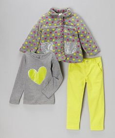 Such a cute little outfit for a girl!