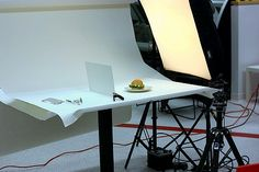 """The behind the scenes of food photography. So fascinating to see how those """"perfect food"""" pictures are created."""