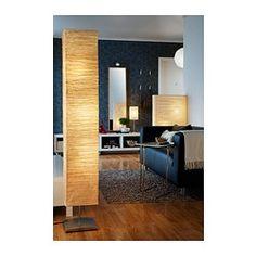 ORGEL VRETEN Floor lamp, natural, steel - IKEA