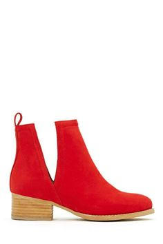 Jeffrey Campbell Oriley Ankle Boot - Red