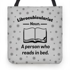 Librocubicularist - a Person Who Reads in Bed