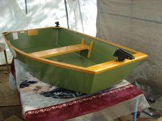 Nice little pram boat for fly fishing. | Fly Fishing ...