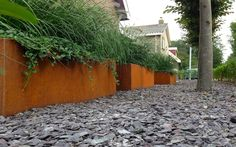 Moderne landschappelijke voortuin in Grosthuizen Van Veen Tuinontwerpen tuinaanleg tuinontwerp