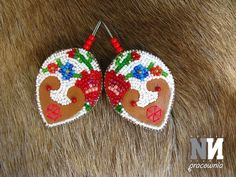 Earrings inspired by the Podhale region (Poland)