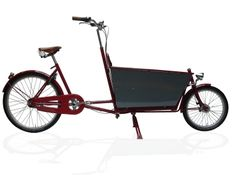Handmade bicycles - Long Achielle Retro met Bak - Jan, Tom, Peter OOSTERLINCK, Fietsproducent - Wedstrijd Ambacht in de Kijker 2012