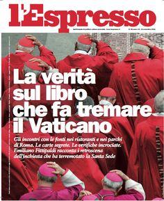 La copertina dell'Espresso in edicola venerdì 6 novembre 2015