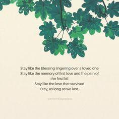 Stay . . . . . . . . . . . . . . . . . . . . . #periwinklepoetess #poetsofinstagram #writersofinstagram #poetry #poem #poet #quotes…