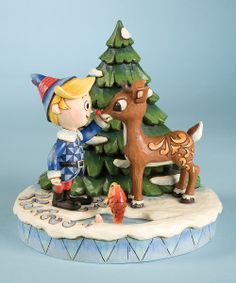 Rudolph & Hermey Figurine.  My favorites!