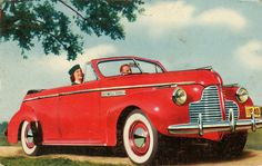 1940 Buick Four Door Convertible.