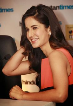 Beautiful smile of Katrina