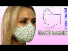 😷 Tutorial de Costura de Máscara Facial 😷 Como Fazer Máscara Facial. Máscara Facial de Pano. - YouTube Easy Face Masks, Diy Face Mask, Hand Embroidery Patterns, Sewing Patterns Free, Sewing Hacks, Sewing Tutorials, Costume Carnaval, Sewing Circles, Mask Template