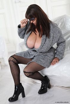The awesome and massively endowed Milena Velba in Autumn Fashion - latest photo gallery @ her official site milena-velba. com