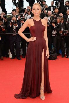 The absolute best of Cannes red carpet fashion: Blake Lively in Gucci Première in 2014.