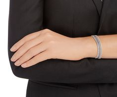 LOVE. Subtle Bracelet Set from #Swarovski