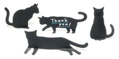 Sticky Notes by twelvetone - Black Cat