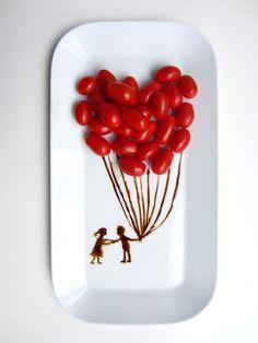 La Cocina Food Art | Cumulus Platte, KAHLA Porzellan | Image: http://lacocina.kitchen/inspirationen/