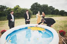 Helen and Alex's Fun Filled Carnival Wedding by Benni Carol Photography