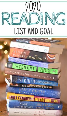 As 2020 begins I am excited to start a new reading goal. Today I am sharing my reading goal for 2020 as well as some of the books I am so excited to jump into! Just like in years past I will be sharing all of the books I read through out the year. Great Books To Read, Good Books, My Books, Summer Books, Summer Reading Lists, Reading Goals, Reading Time, Reading Nook, Books 2016