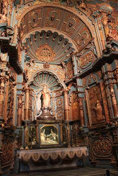 Capilla de la Inmaculada Concepción, Catedral de Lima. Barroco