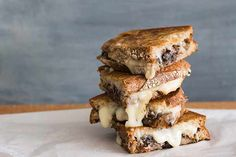 Taleggio cheese toastie with mushroom recipe, Bite – visit Eat Well for New Zealand recipes using local ingredients - Eat Well (formerly Bite) Taleggio Cheese, Toast Sandwich, Stuffed Mushrooms, Stuffed Peppers, Non Stick Pan, Slice Of Bread, How To Make Cheese, Mushroom Recipes, Main Meals