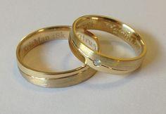 Como escolher as alianças de casamento?