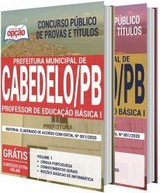 Apostila Prefeitura De Cabedelo Pb Professor De Educacao Basica