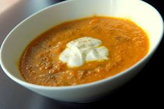 Tastes of Africa!!! Moroccan Carrot soup