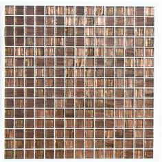 Aura ™  Metallic Aventurine Glass Mosaic Tile  -  Babylon