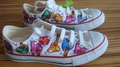 Mushroom custom Converse All Stars love these