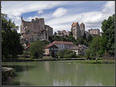 The medieval city, Chauvigny - Chauvigny, Poitou-Charentes