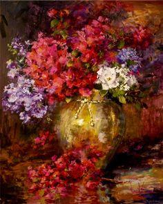"""Bougainvillea Bouquet"" Nora Kasten"