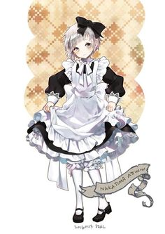 Grafiki i memy z Bungou stray dogs - Chuuya Nakahara Fanarts Anime, Anime Chibi, Anime Characters, Maid Outfit Anime, Anime Maid, Stray Dogs Anime, Bongou Stray Dogs, Manga Girl, Guys In Skirts