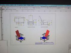 Silla 3D vectorworck