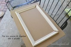 How to make your own cabinet doors...eventually this will come to good use