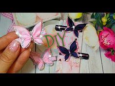 Diy Lace Ribbon Flowers, Ribbon Flower Tutorial, Cloth Flowers, Ribbon Art, Diy Ribbon, Ribbon Crafts, Ribbon Bows, Fabric Flowers, Diy Crafts