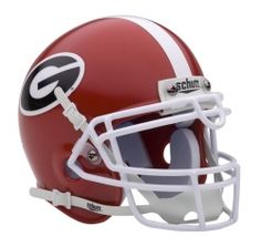 Helmet worn by the players in the greatest college football program in the world, the Georgia Bulldogs of the University of Georgia in Athens