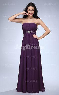 Crystal A-line Strapless Floor-length Dress - Joydress.co.uk - 221 - pro - p121019107