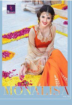 shangrila Monalisa Vol 2 prints sarees catalog  http://www.jhumarlalgandhi.com/portfolio/shangrila-monalisa-vol-2-prints-sarees-catalog/ Contact on +919712677711