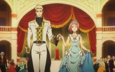 Shingeki no Bahamut - Charioce and Nina Anime Love Couple, I Love Anime, Anime Princess, Princess Zelda, Anime Couples, Cute Couples, Shingeki No Bahamut Genesis, Fantasy Couples, Anime Inspired Outfits