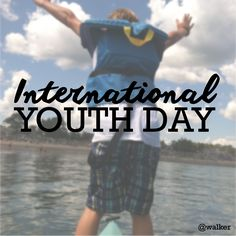 It's International Youth Day! You're never too young to start#Yondering! Share your #kidsofyonder pics! picture by [@]Walker