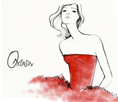 Garance Dore's illustrations never fail to stir a little glamour into a dreary day.   http://www.garancedore.fr/en/page/2/