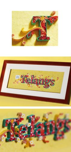22 Amazing Name Plates Images Quilling Paper Quilling Quilling