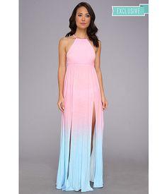 Wildfox I Am The Ocean Gigi Gown Multi