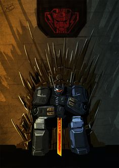 Iron Throne Grimlock speedpaint by on DeviantArt Transformers Characters, Hasbro Transformers, Transformers Prime, Epic Pictures, Monster Musume, Iron Throne, Comic Games, Black Canary, Green Arrow