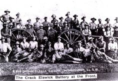 Elswick Battery Potchefstroom South Africa 1901